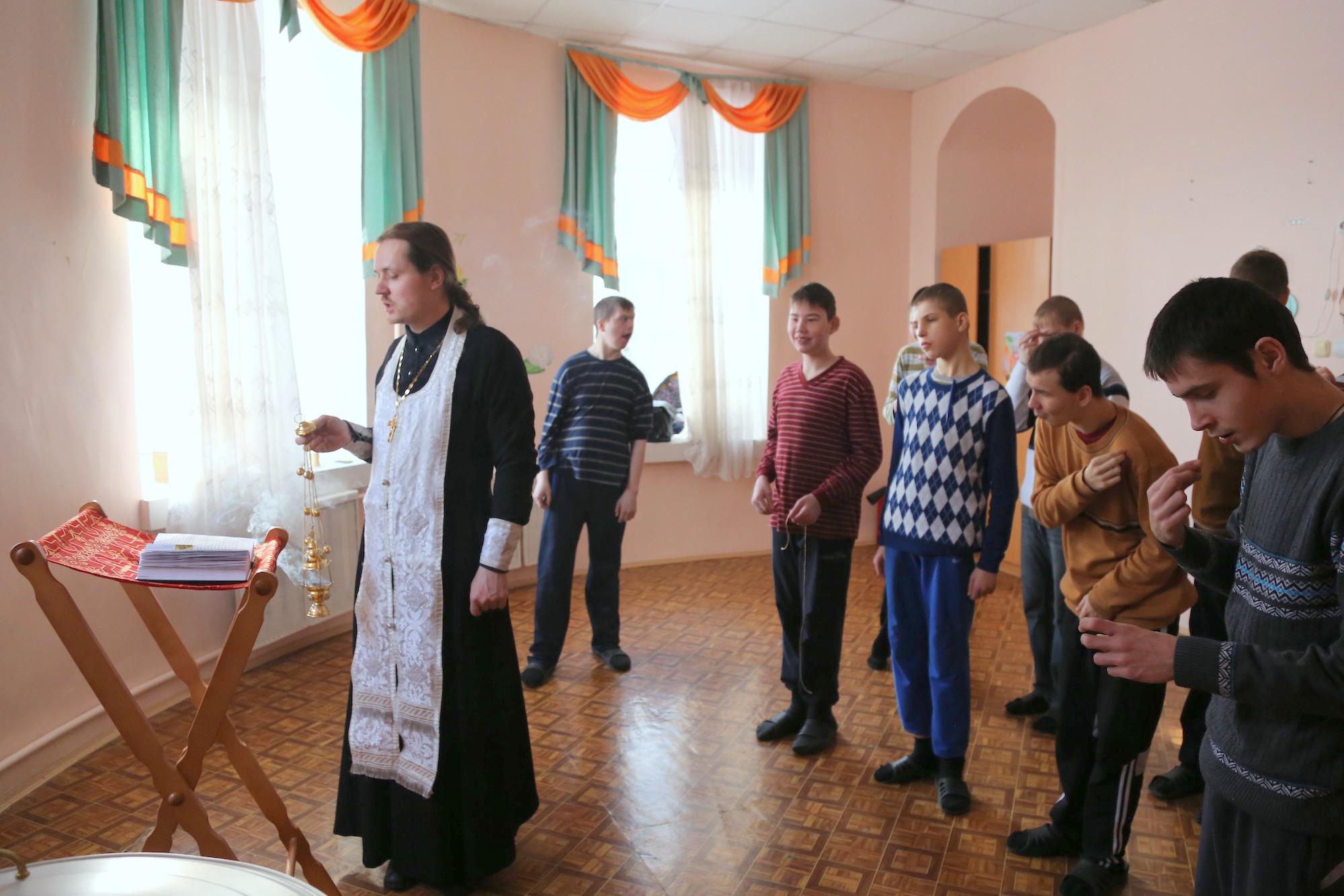 Праздник Собора новомучеников и исповедников Церкви Русской в Коломенском детском доме-интернате